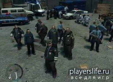 Мод милиции для GTA 4 (Российская Милиция)