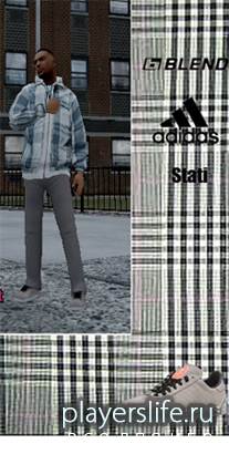 Костюм Blend, Adidas для GTA 4