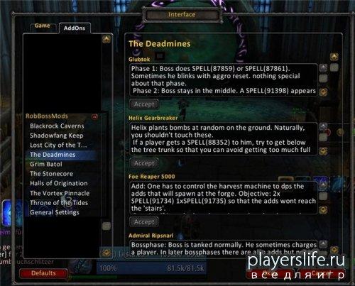 RobBossMods 4.0.6