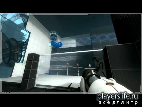 E3 Repulsion Gel Map [Карта для Portal 2]