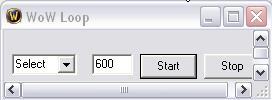 WoW Loop [Надоело нажимать на одну и ту же кнопку по несколько раз?]