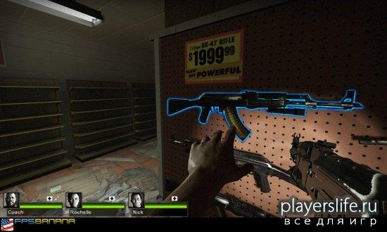 ����� AK-47 ��� Left4Dead2