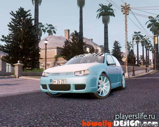 VW Golf IV BH 29 ZEI для GTA 4