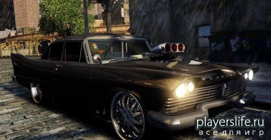 1957 Plymouth Savoy Club Sedan Dragster (Final) для GTA 4