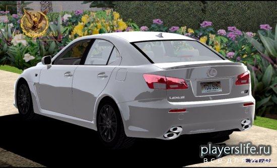Lexus IS F '09 для TDU
