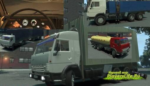 Отечественный КАМАЗ 53212 в GTA 4