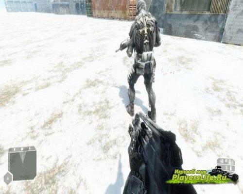 Нанокостюм из концепт-арта для Crysis