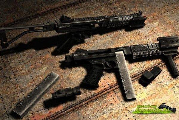 Модель оружия для CSS Tactical-Thompson For UMP