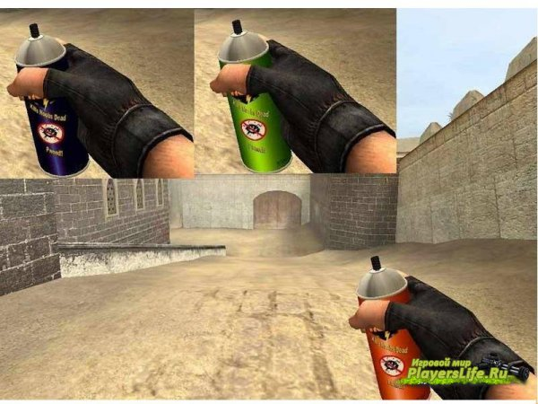 ��� ������ Spray Can Grenades ��� CSS