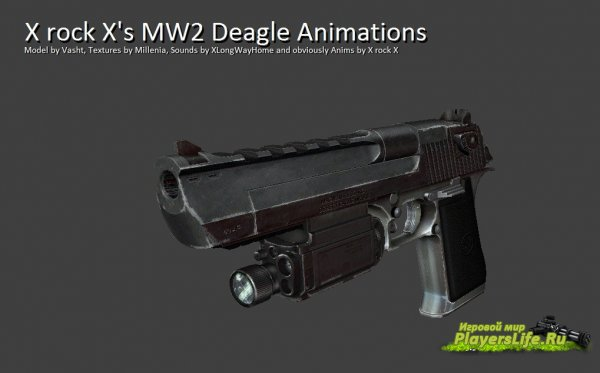 MW2 Deagle Animations для CSS
