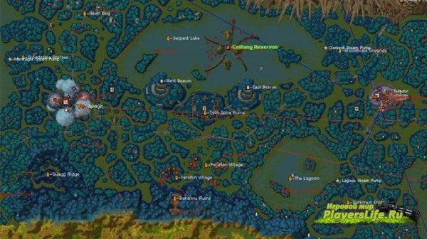 Wow Cartographe (софт импортирует из игры в свою базу всю карту мира)