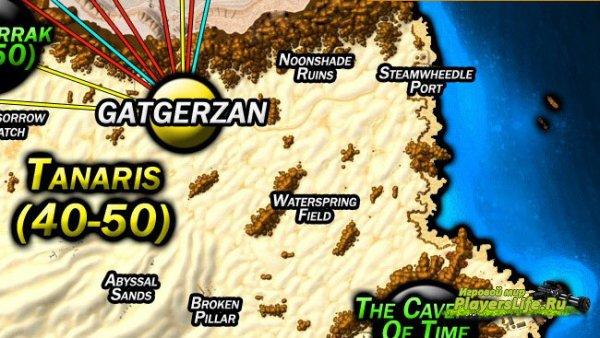 Карта Калимдора v2.0