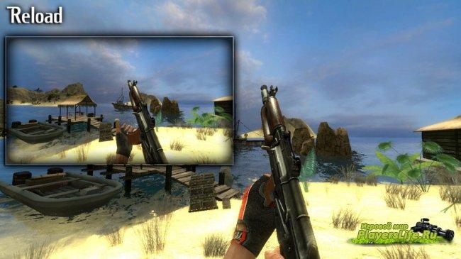 Модель оружия TheLama's AK74-u on Unkn0wn's Animations (Для css)