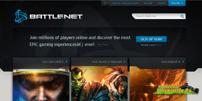 Battle.net ��������� ��� WoW � ������