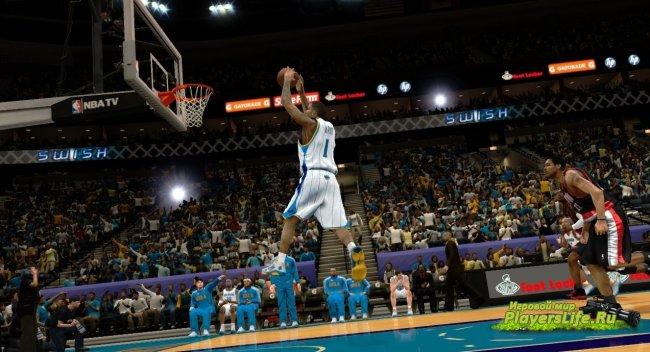 ������� ������������� ���������� � ���� NBA 2K12