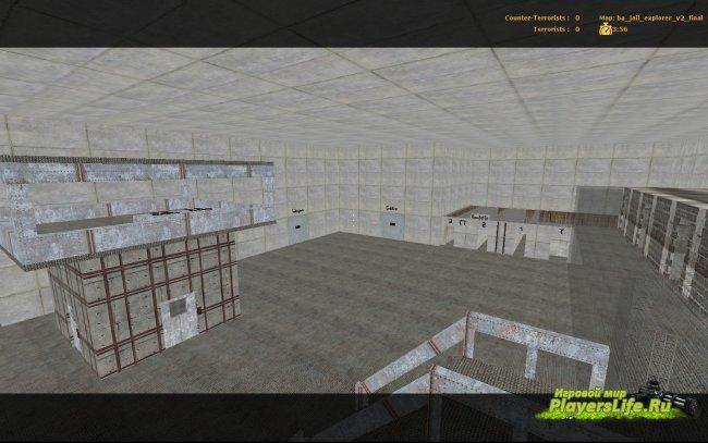 Карта ba_jail_explorer_v2_final для CS Source