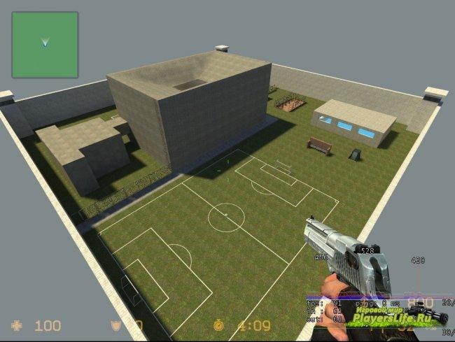 Карта ba_jail_summer для CS Source