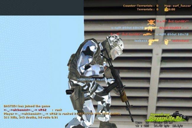 ������ ������ MMurrays Improved Open Terrain Skin ��� CS Source