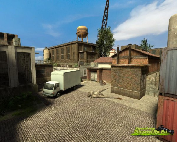 Карта de_industrial_estate_32p для CS Source