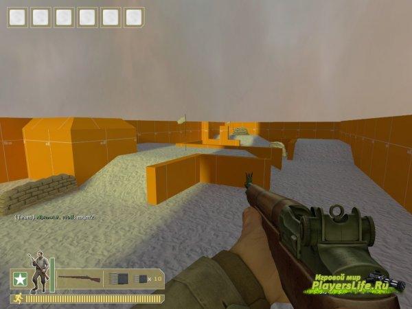 Карта trainmap_wolf_v2 для DoD Source