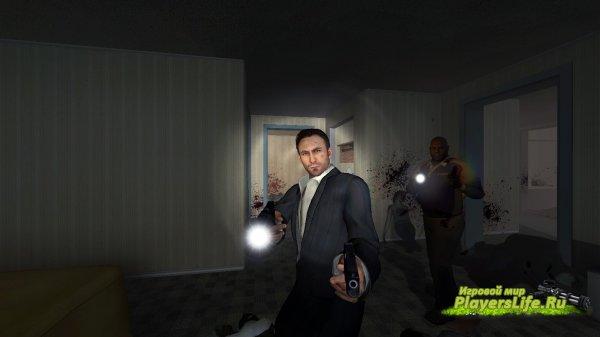 Модель ника черного и белого для Left 4 Dead 2