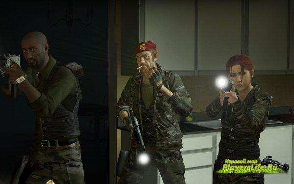 Модели специально-оборудованных выживших для Left 4 Dead 2