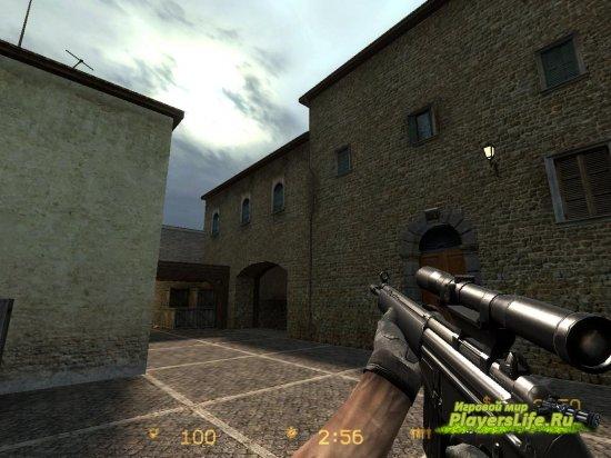 Снайперка g3sg1 (переделка текстуры)