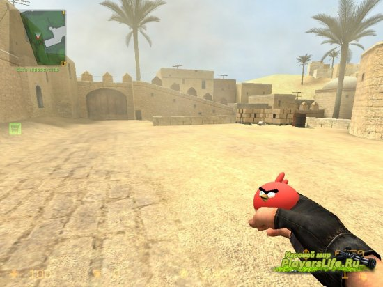 Модель гранат в стиле Angry Birds (злые птицы) для CSS