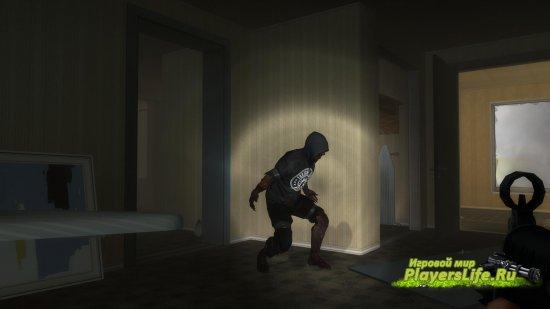 Персонаж из Dead Rising 2 Looter заместо охотника для Left 4 Dead 2