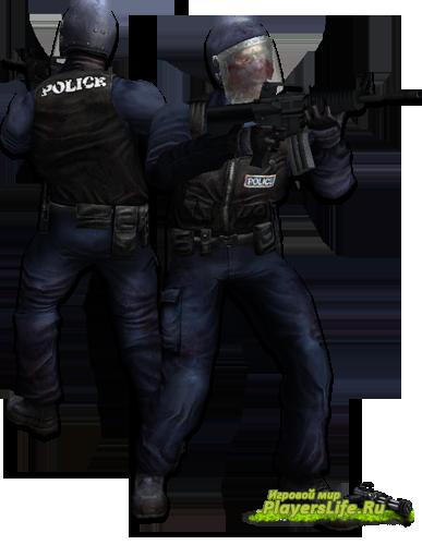 Админские скины полиции из Killing Floor для CSS