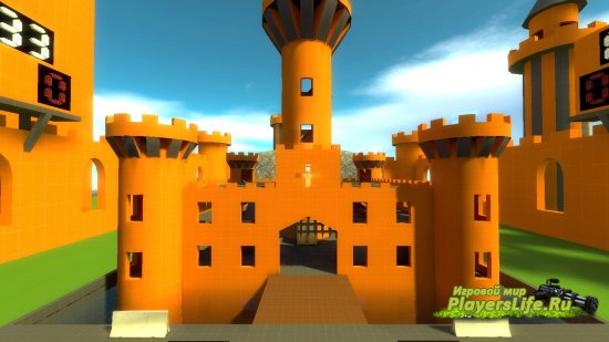 ����� ctf_texture_castle_forts ��� CSS
