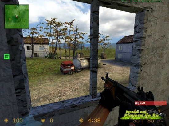 Карта dm_3houses для CS:S
