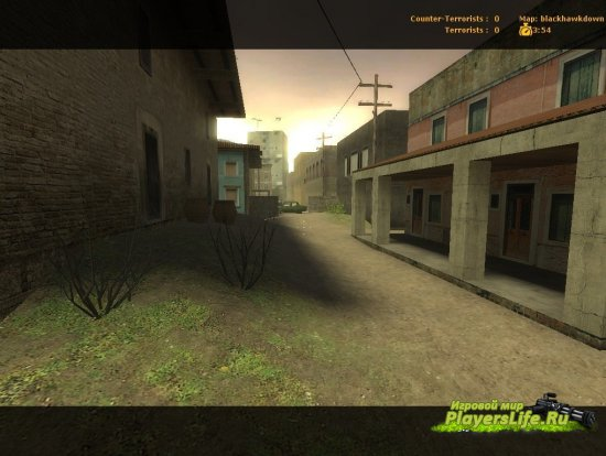 Карта blackhawkdown для CS:S