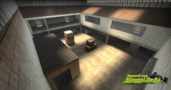 Карта de_cellar для CS:GO