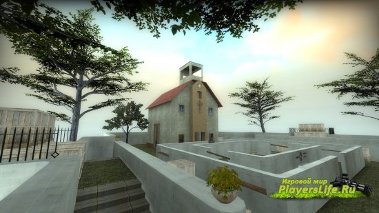 Карта AR_Churches для CS:GO (переделка)