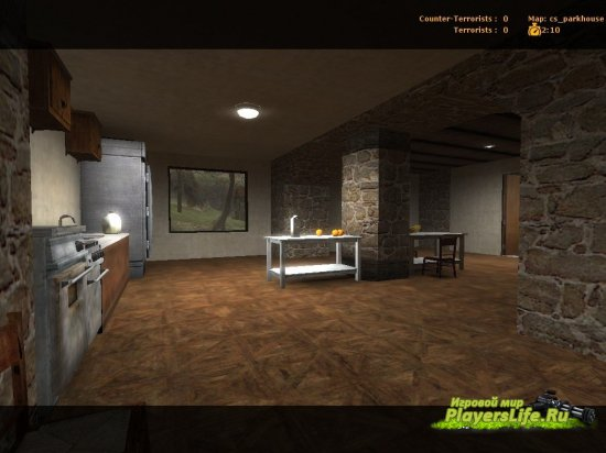 Карта cs_parkhouse для CSS