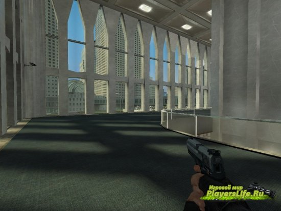 Карта cs_northtower для CSS