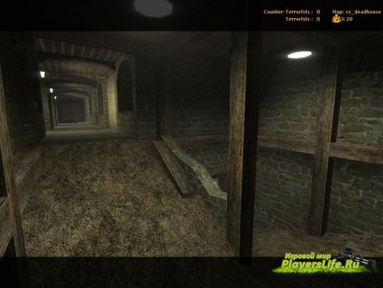 Карта cs_deadhouse для CSS