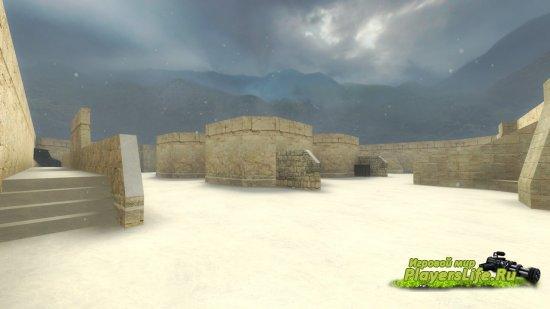 Карта fy_snowstorm для CS GO