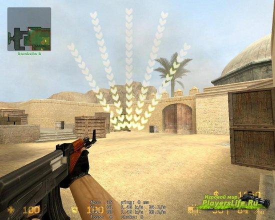 Мигание бомбы в виде стрелочек в разные стороны для CSS