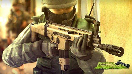 Модель АК-47 из Battlefield 3 для CSS