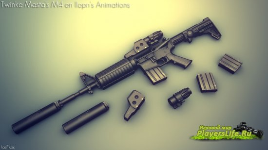 Модель оружия M4A1 Stealth Edition для Sig550