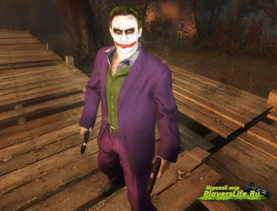 Леджер Хит в роли Джокера заместо Ника для Left 4 Dead 2