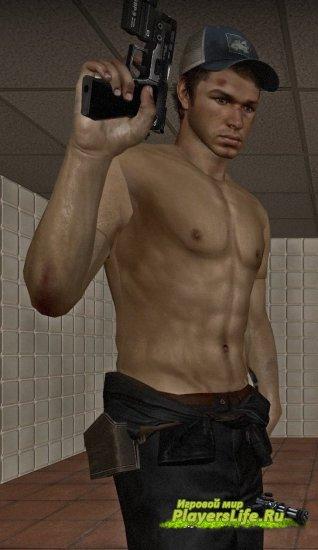 Качок Эллис без рубашки для Left 4 Dead 2