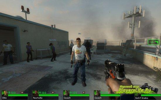 Модель Эллиса, фаната уличного боя для Left 4 Dead 2