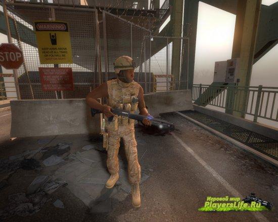 Солдат - различный пак выживших для Left 4 Dead 2
