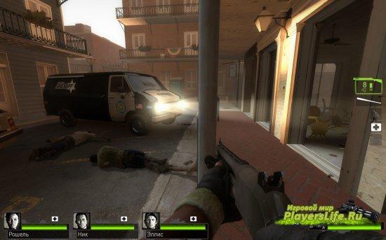 Шерифский специальный фургон SWAT для Left 4 dead 2