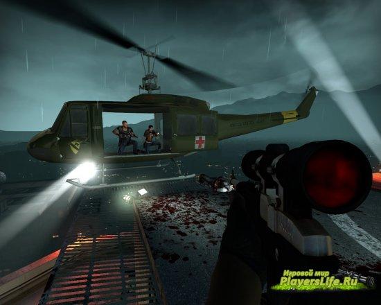 Вертолет армии США для Left 4 Dead 2