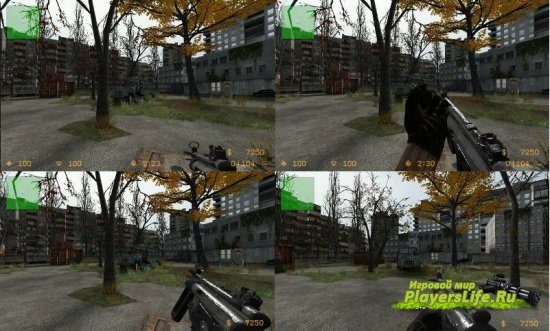 ������ ������ MP5 �� Call of Duty 7 ��� CSS