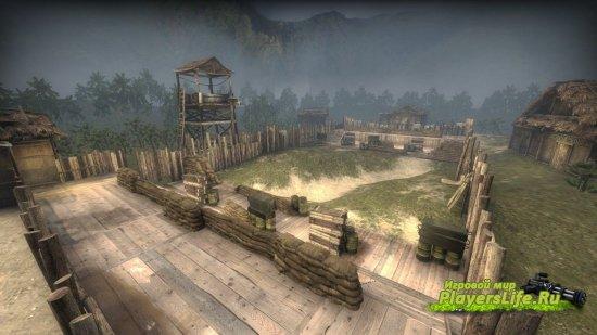Карта aim_bang для CS GO